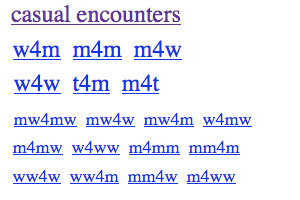 Casual encounter w4m