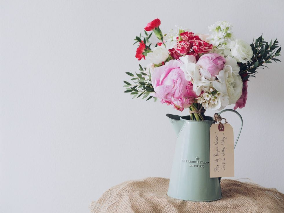 flowers to your girlfriend