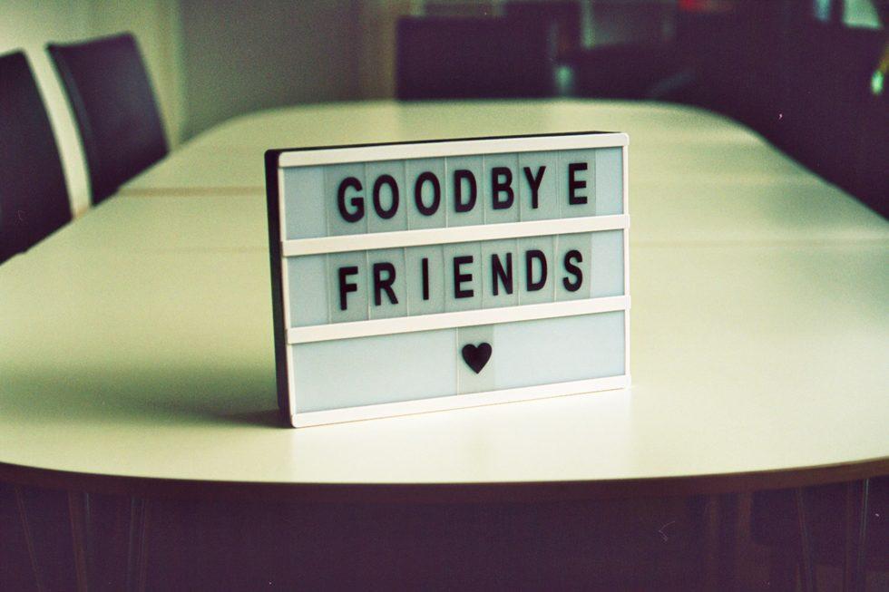 goodbye friends songs